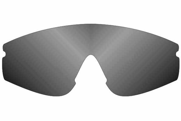 spare lens Concept M, smoke polarized
