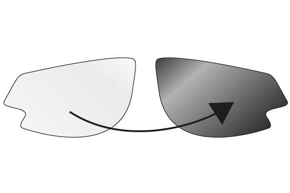 spare lenses Gardosa Re+ photoch. clear-smoke 0-3