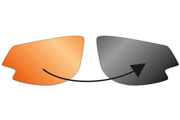 spare lenses Gardosa Re+ photochromic orange-smoke