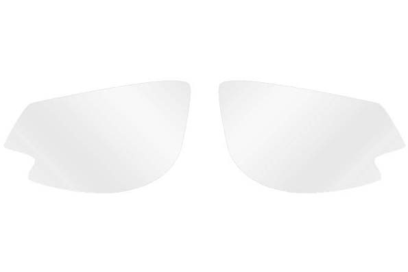spare lenses Iconic 2.0, clear hydrophobic