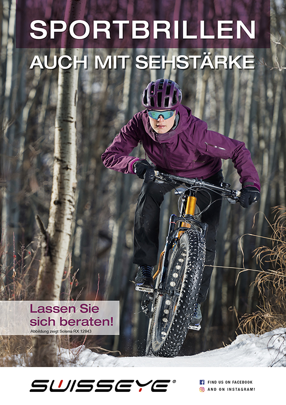 Poster Wintermotiv Solena RX, DIN A1